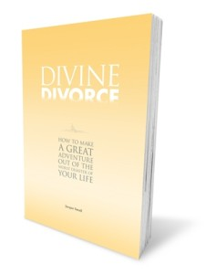 The book Divine Divorce, an comprehensive guide to exploring your marriage and making it better, dealing with a breakup or divorce and moving on to a new life.